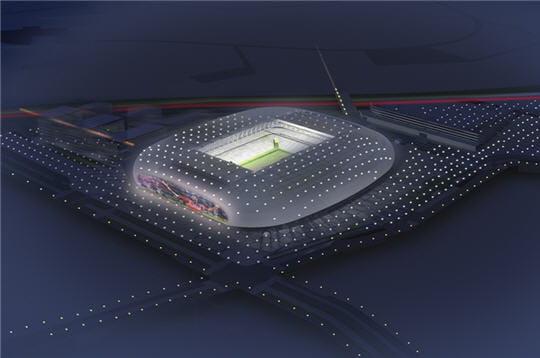 un toit r tractable le futur stade de lille linternaute. Black Bedroom Furniture Sets. Home Design Ideas