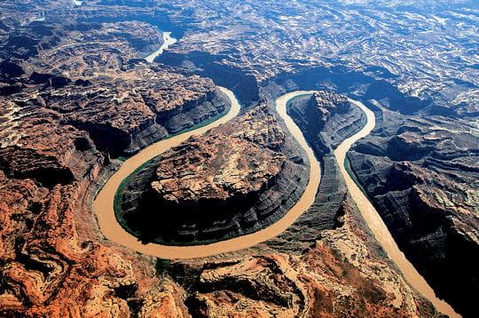 Le fleuve colorado, etats-unis