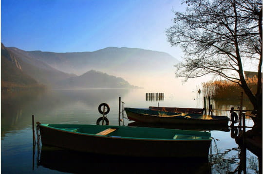 Silence sur le lac
