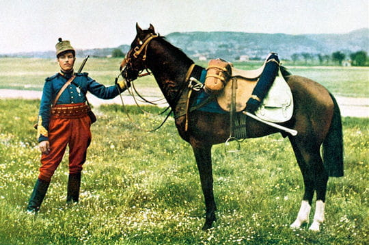 même si l'armée polonaise combattait encore avec des chevaux en 1939, la