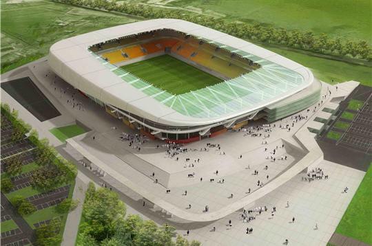 le nouveau stade dumans union club (muc) est prévu pour 2009. la