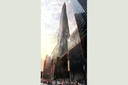 Tour de verre manhattan jean nouvel travers ses oeuvres linternaute - Tour de verre marseille ...