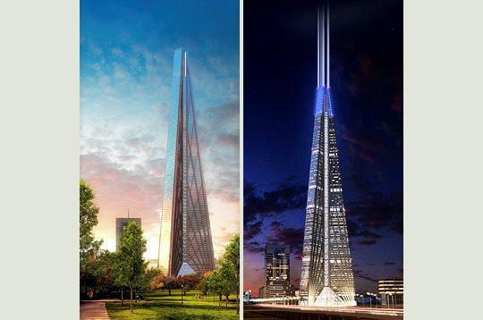 Classement des 10 tours plus hautes au monde - Classement des plus hautes tours du monde ...