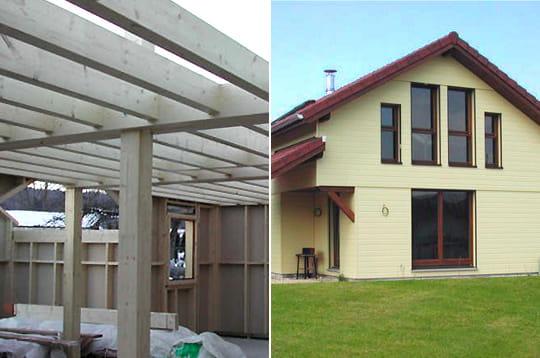 Comment fr d ric a construit sa maison en bois linternaute for Comment construire sa maison en bois