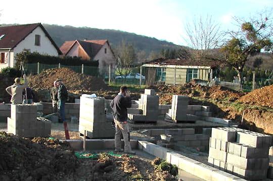 Le vide sanitaire  Comment Frédéric a construit sa maison en bois  Linternaute