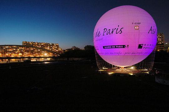 pollution haute un ballon pour mesurer la qualit de l 39 air de paris linternaute. Black Bedroom Furniture Sets. Home Design Ideas