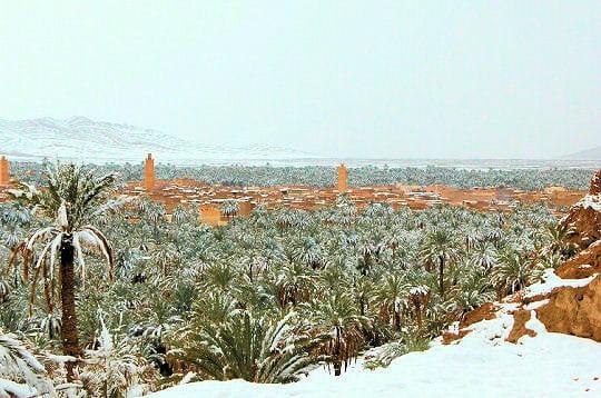 اقصى المغرب °ˆ~*¤®§(*§--فكيك مدينة القصور figuig-sous-neige-30