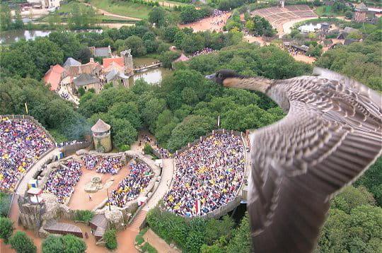 en 1988, le puy du fou décide de se doter d'un grand parc afin que les visiteurs