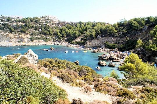L'île de Rhodes