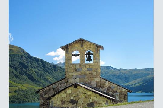 Chapelle du lac de Roselend