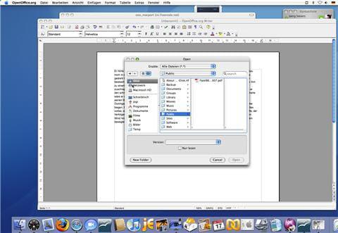 Openoffice 20 logiciels t l charger pour mac os x - Telecharger open office pour mac gratuit ...