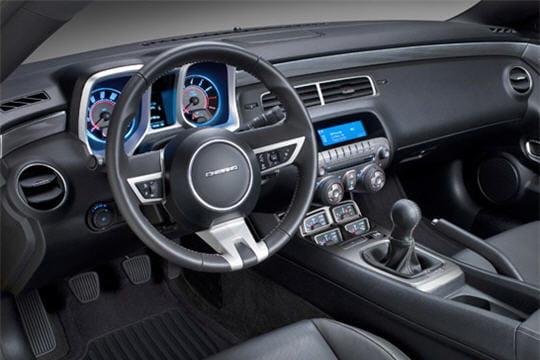 Intrieur Nouvelle Chevrolet Camaro SS Linternaute