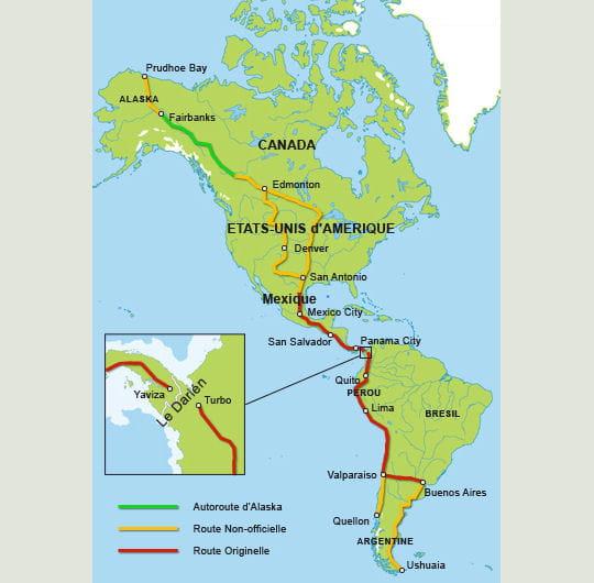 la route panaméricaine