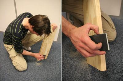 Arrondir les angles fabriquer une tag re sur mesure - Arrondir les angles ...