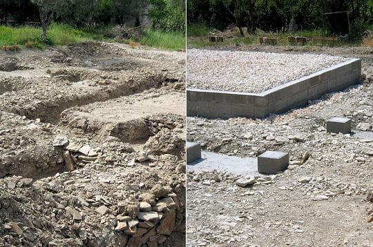 le terrassement et les fondations comment pascal a