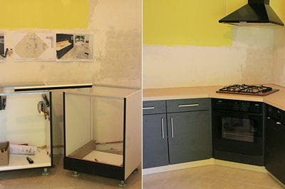 Monter une cuisine am nag e linternaute for Equipement cuisine amenagee