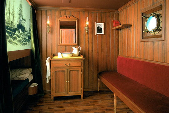 La cabine Jules Verne