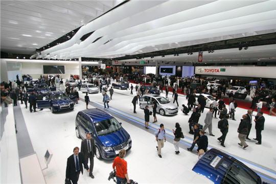 Le salon automobile le plus important au monde les - Le plus grand salon automobile du monde ...