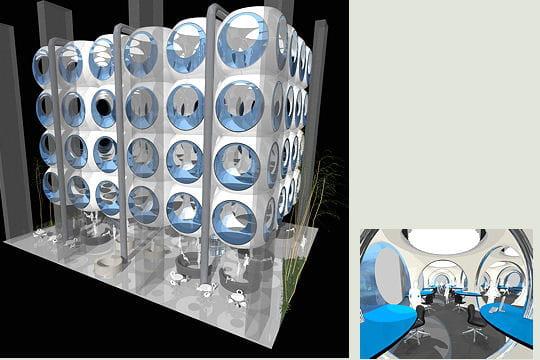 bureaux bulles