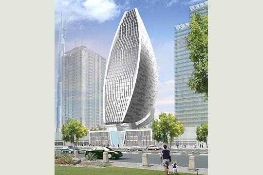 sheth tower ou la tour ovo de les 50 projets fous de dubai linternaute. Black Bedroom Furniture Sets. Home Design Ideas