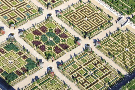 Les jardins du ch teau de villandry - Jardin a la francaise caracteristique ...