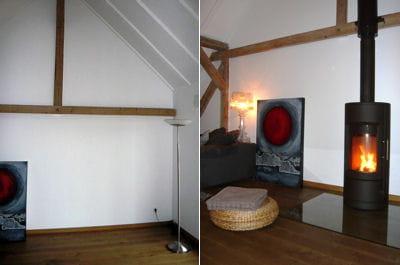 un po le bois dans votre salon en une journ e. Black Bedroom Furniture Sets. Home Design Ideas