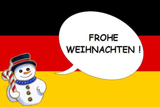 en allemand - dire  u0026quot joyeux no u00ebl u0026quot