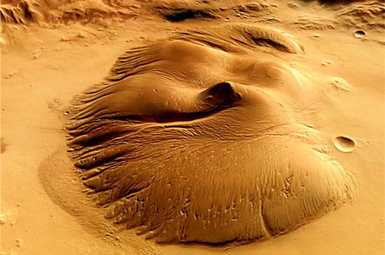Cratère Nicholson