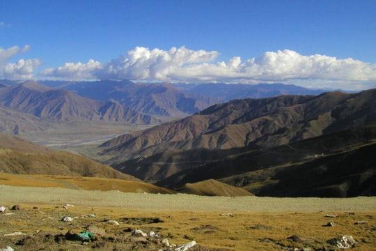 Les plateaux du Tibet