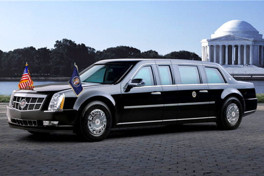 nouvelle limousine de barack obama une v ritable forteresse roulante linternaute. Black Bedroom Furniture Sets. Home Design Ideas