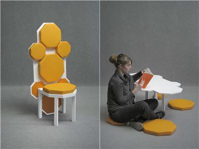 matali crasset au centre des arts d 39 enghien les bains 10 expositions voir en france cet. Black Bedroom Furniture Sets. Home Design Ideas