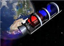 les satellites permettent de suivre les débris et d'estimer leur trajectoire.
