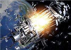 les scientifiques essayent d'éviter les collisions en changeant les orbites des