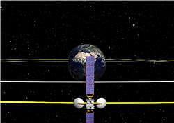 la disposition des satellites entre eux permet de protéger le plus important des