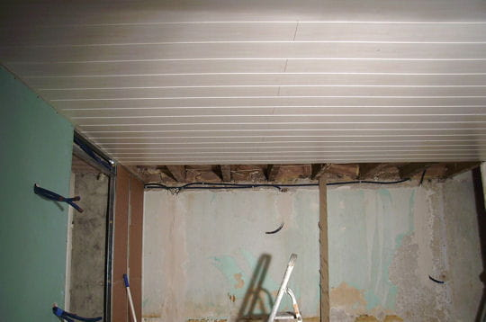 La r novation du plafond comment fanny a r nov sa for Renovation plafond