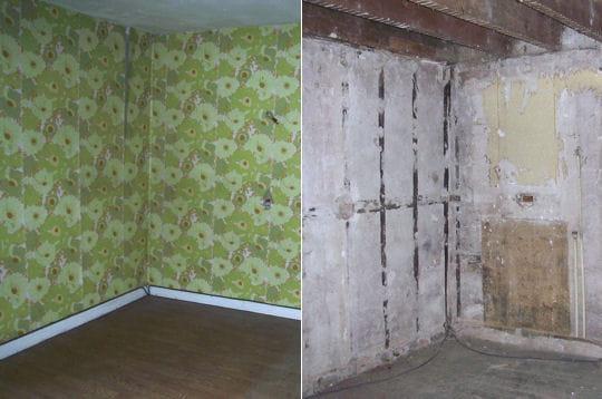 les travaux dans la chambre de baptiste comment fanny a. Black Bedroom Furniture Sets. Home Design Ideas