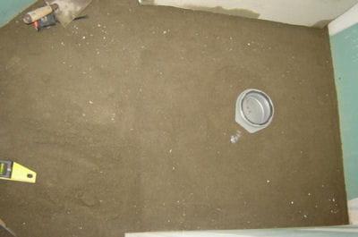 installer la bonde construire une douche l 39 italienne pas pas linternaute. Black Bedroom Furniture Sets. Home Design Ideas