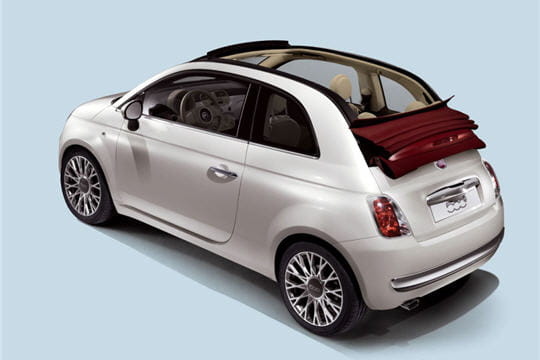 une fiat 500 d capotable fiat 500 c l 39 italienne se d couvre linternaute. Black Bedroom Furniture Sets. Home Design Ideas