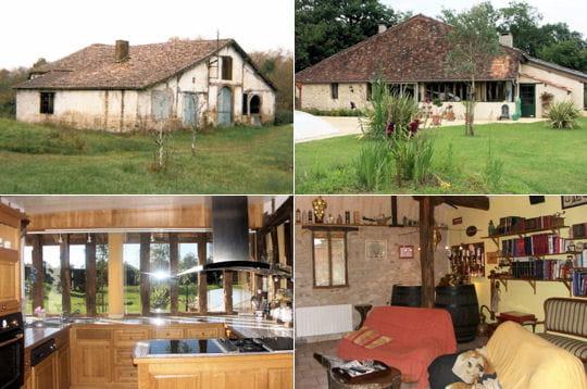Comment jean fran ois a r nov une grange landaise - Grange renovee avant apres ...