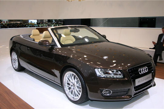 nouvelle audi a5 cabriolet. Black Bedroom Furniture Sets. Home Design Ideas