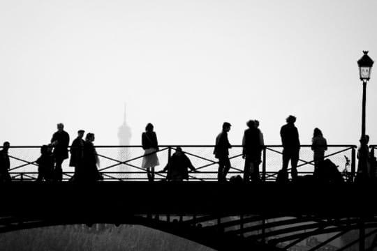 paris en noir et blanc ... Pont-arts-389481