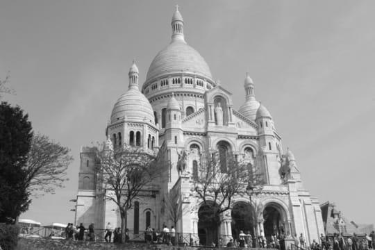 paris en noir et blanc ... Basilique-sacre-coeur-389511