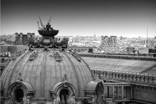 paris en noir et blanc ... Toits-paris-389518