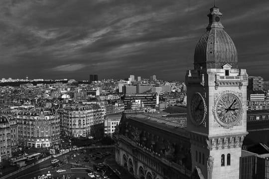paris en noir et blanc ... Gare-lyon-389540