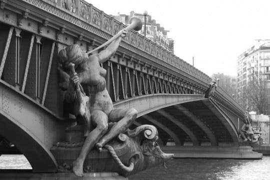 paris en noir et blanc ... Pont-mirabeau-389658