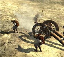 l'artillerie joue un rôle majeur