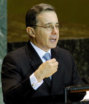 alvaro harvard thesis uribe Álvaro uribe vélez: álvaro uribe vélez, colombian politician who served as president of colombia (2002–10) uribe earned a law degree from the university of antioquia, medellín, and later.