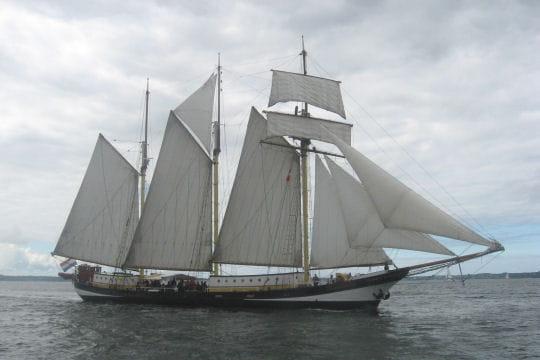 Vu dans la rade de Brest