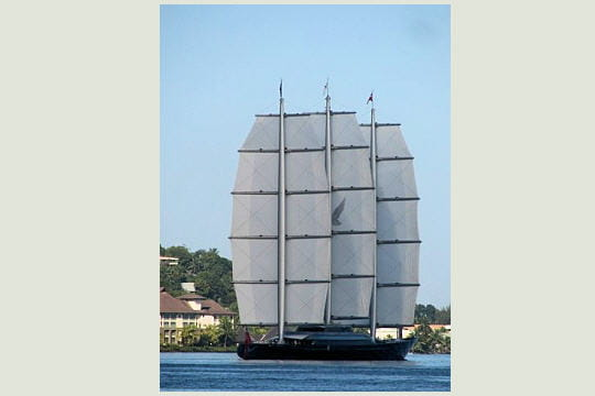 Le Maltese Falcon à Papeete