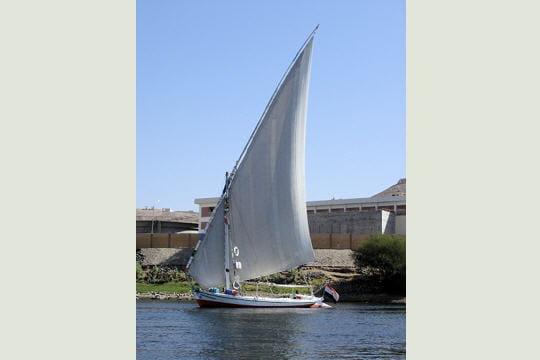 Felouque vue sur le Nil
